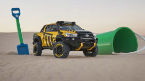 Toyota embraces childhood creativity with Tonka release