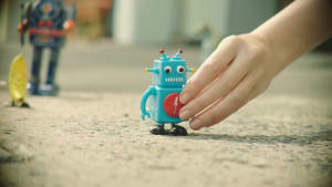 White Pages bids for relevance in fun robot ad