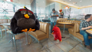 McDonald's brings Angry Birds to life in VR