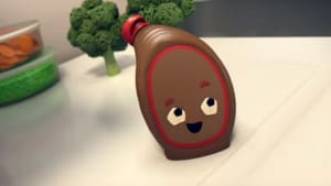 Samsung follows one chocolate sauce bottle's quest for love
