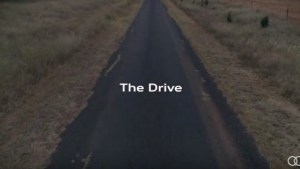 Audi takes viewers for a 'slow' drive