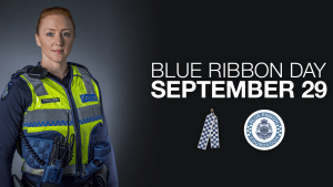 Blue Ribbon Day celebrates 30th birthday with police tribute