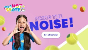Tennis Australia encourages kids involvement in new campaign