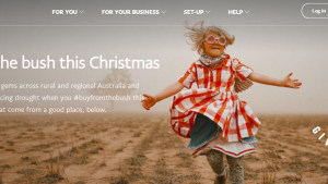 PayPal partners with #BuyFromTheBush for Christmas