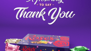 Cadbury Roses gives Australians a fresh way to say thank you