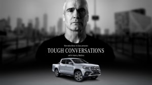 Mercedes-Benz tap 'tough guy' Henry Rollins to launch its first ute