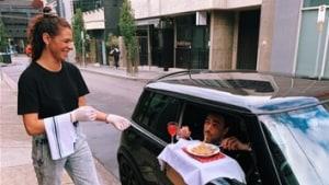 Melbourne's Chapel Street Precinct offers 'in-car dining'