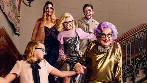 Dame Edna says the f-word for Westfield