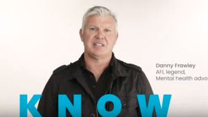 Mental health charity One in Five tributes the late Danny Frawley