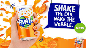 Fanta gets fizzy with global brand overhaul