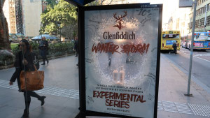 Posterscope and Vizeum bring Glenfiddich's experimental series to life