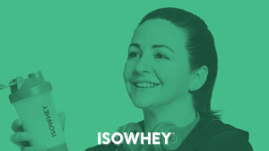 IsoWhey shows how women can overcome temptation