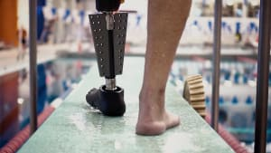 JWT New York builds amphibious prosthetic leg