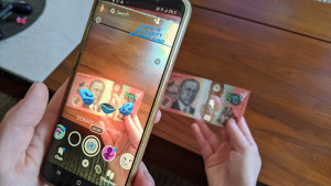 Snapchat introduces augmented reality donation lenses