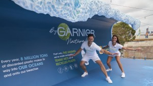 Garnier goes from 'Coast to Court' at Australian Open
