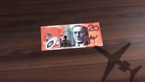 Marcel Sydney lets the $20 note speak up for Rio Tinto and RFDS