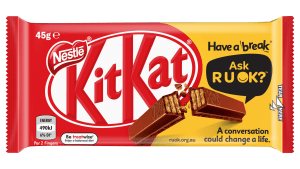 KitKat partners with R U OK?