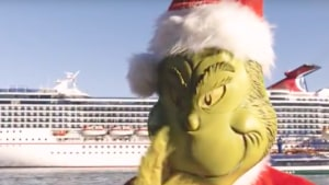 Carnival Cruises gears up for Grinchmas festivities