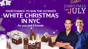 Nova and Cadbury launch chocolate house promotion