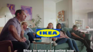 Ikea spot urges Aussies to overhaul their living room