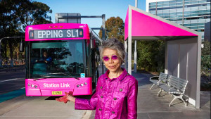 Lee Lin Chin fronts groovy Transport for NSW campaign