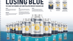 Corona changes its can design for the first time in 100 years