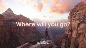 Skyscanner asks people to rediscover travel