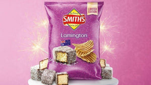 Smith's launches limited-edition lamington potato chip