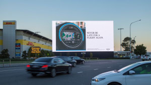 Mini rolls out dynamic outdoor campaign to launch connected vehicles
