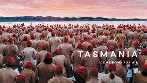 Tourism Tasmania's Come Down for Air