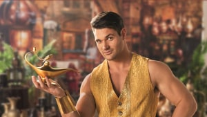 Bachelor contestant Apollo revealed as Tim Tam's Genie