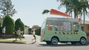Veggie Mr Whippy trucks and free sunscreen from HCF