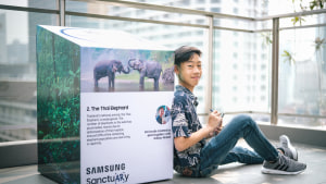 Samsung launches augmented reality wildlife sanctuary