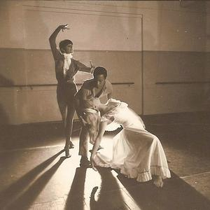 Ronne Arnold with Saunda Furnell (top) and Robina Beard in Creole Faust by Carlos Chavas.