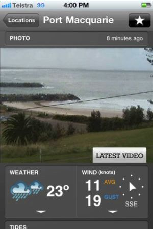 Boating fishing weather app for iphones fishing world for Fishing weather app