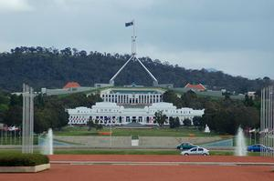 Parliament House in Canberra (Steve Hitchen)