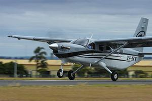 Quest Kodiak turbo-prop utility aircraft. (John Absolon)