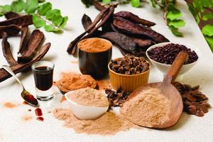 The Australian Carob Company makes a range of products for the retail health food market.
