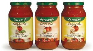 In recent years, Jensen's has focused on developing a range of products to meet the growing demand for certified organic products and has partnered with the major retailers to meet their requirements in this market segment.