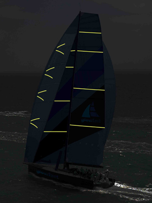 Glowfast's improved illuminated sail tapes