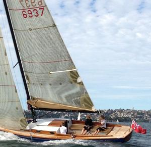 The Ringle 39 Daysailer has been turning heads on Sydney Harbour. Photo Vicsail.