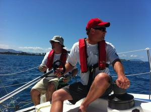Lifejackets were compulsory in the Groupama New Caledonia Race. Photo Janine Robinson.