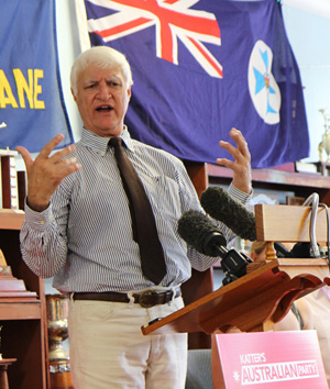 Bob Katter's believes protected estates, such as National Parks, should be opened up to recreational hunters.