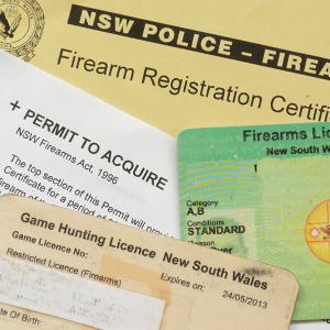how to get a shooting licence nsw