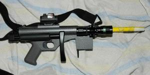 The home-made machineguns were manufactured to a high standard of quality, according to police.