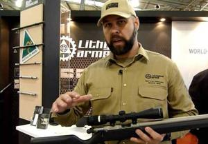 Richard Basladynski, testing and evaluation manager at Lithgow Arms, talks about the new rifle.