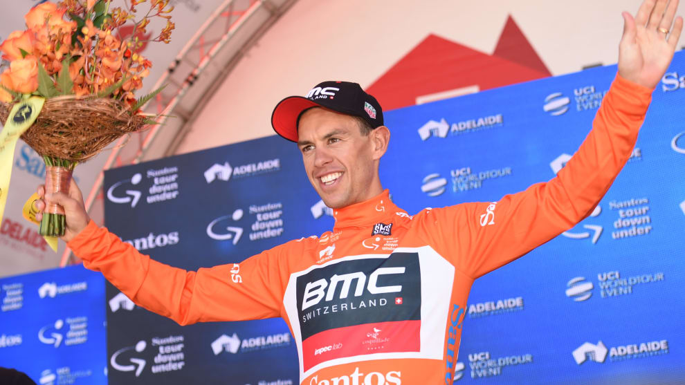 2017 was a standout season for Richie Porte, winning the Tour Down Under then Tour of Romandie. Image: Sirotti.