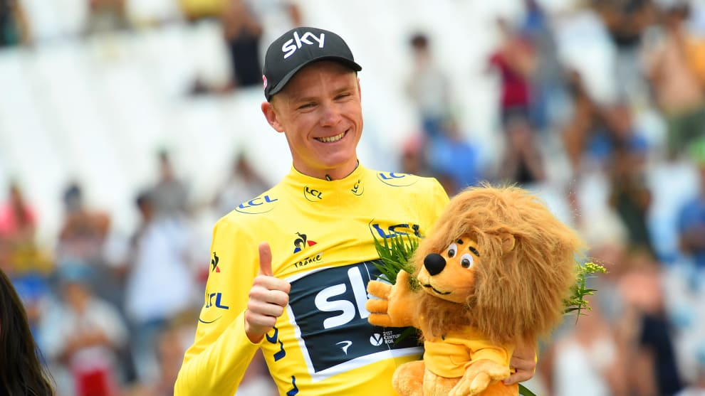 Chris Froome has been ruled out of the 2019 Tour de France after crashing heavily at the Criterium du Dauphine. Image: Sirotti.