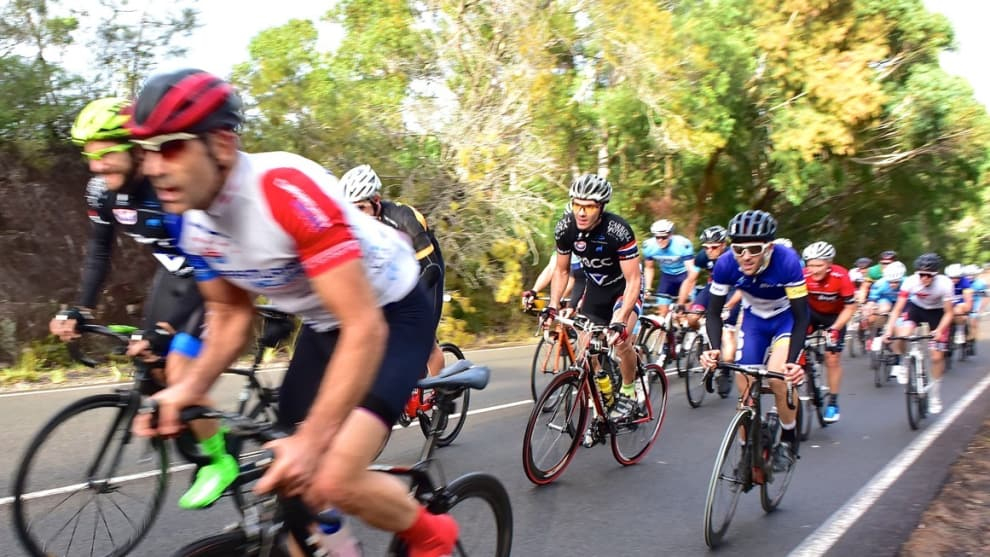 Local cycling clubs regularly hold weekend races on West Head Road.