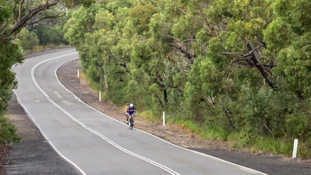 The Open Road: Riders enjoy an early morning sortie out to West Head.